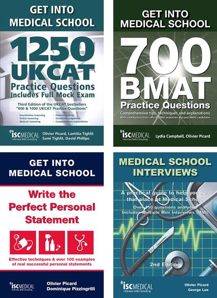 Full preparation for medical school entry (4 books)