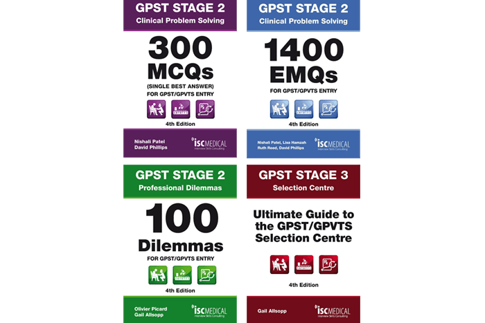 GPST / GPVTS stage 2 & stage 3 revision books