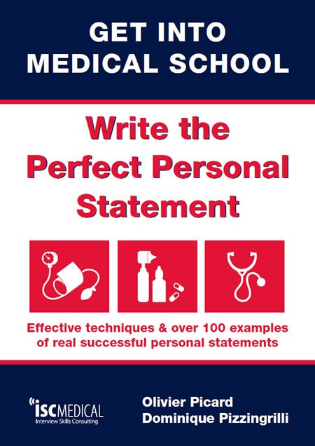 medical school personal statement book