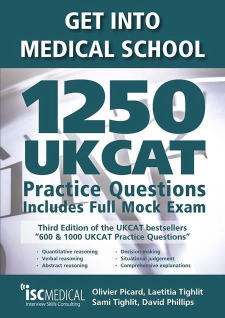 get into medical school - 1250 ukcat practice questions